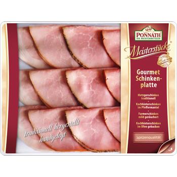 PONNATH - Gourmet Schinkenplatte