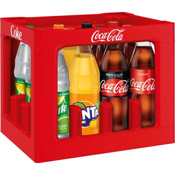 Coca-Cola*, Fanta, Sprite