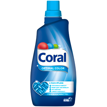 Coral Fein- oder Vollwaschmittel