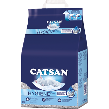 Catsan Ultra Plus oder Hygiene Plus Klumpstreu