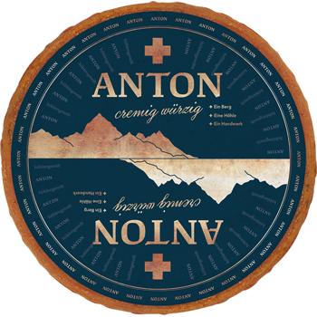 Anton oder Anton cremig würzig