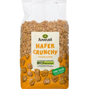 Alnatura Bio Hafer oder Dinkel Crunchy