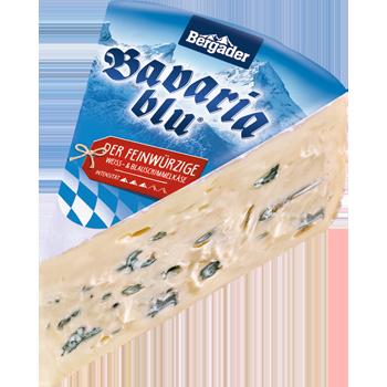 Bavaria blu oder Bergader Almkäse