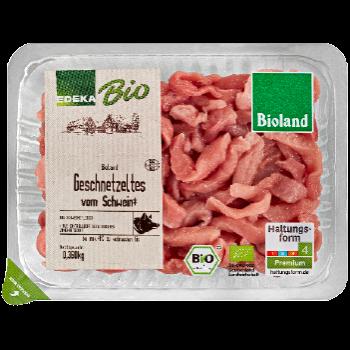EDEKA Bio / Bioland - Bio-Geschnetzeltes vom Schwein