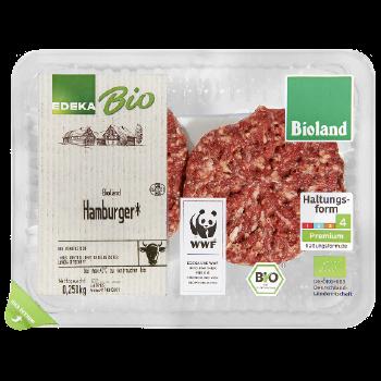 EDEKA Bio / Bioland - Bio-Hamburger