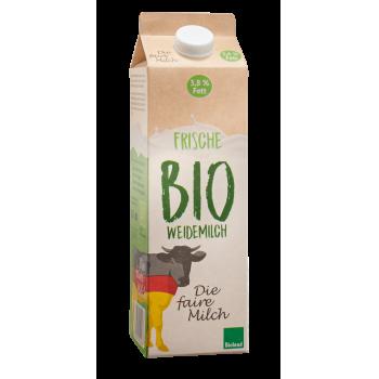 Bioland - Die faire Milch Frische Bio Weidemilch