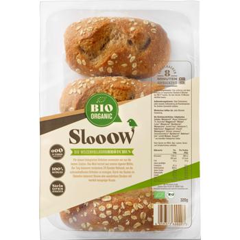 Bio Slooow Weizenvollkornbrötchen