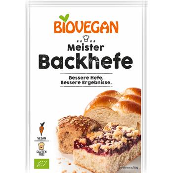 Biovegan Meister Backhefe