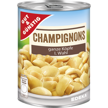 Gut & Günstig - Champignons
