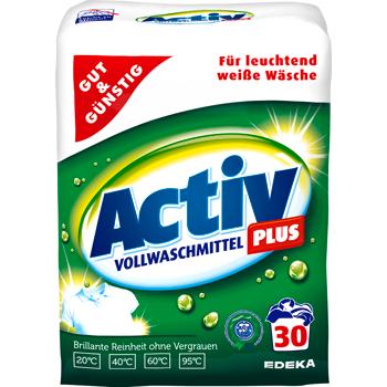 GUT & GÜNSTIG - Activ Plus Waschmittel