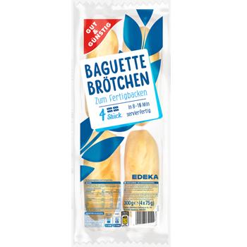 GUT & GÜNSTIG - Baguette Brötchen