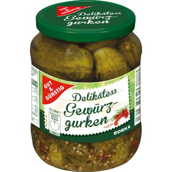 GUT & GÜNSTIG - Delikatess Gewürzgurken