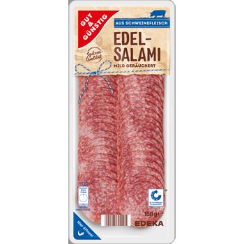 GUT & GÜNSTIG - Edel-Salami oder Geflügel-Salami
