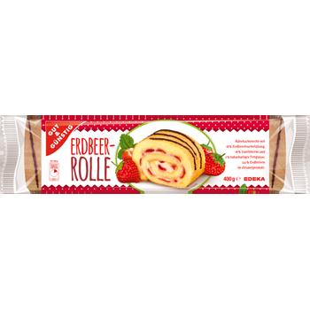 GUT & GÜNSTIG - Erdbeer- oder Kakaorolle