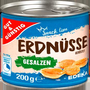 GUT & GÜNSTIG - Erdnüsse