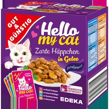 Gut & Günstig - Hello my cat Zarte Häppchen
