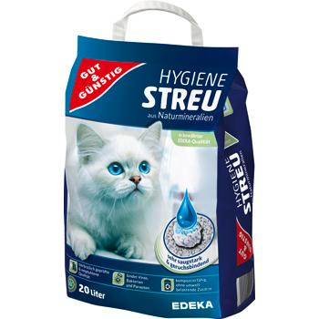 Gut & Günstig - Hygiene-Katzenstreu