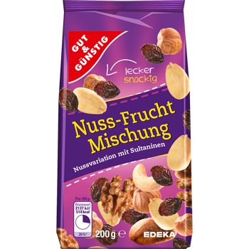 Nuss-Frucht Mischung