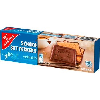GUT & GÜNSTIG - Schoko Butterkeks