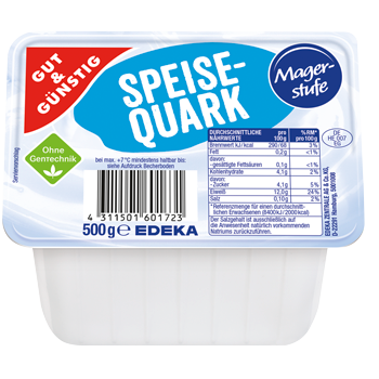 GUT & GÜNSTIG - Speisequark Magerstufe