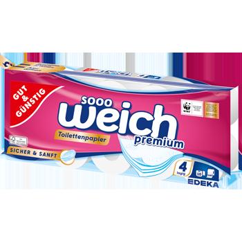 GUT & GÜNSTIG - Toilettenpapier Sooo Weich