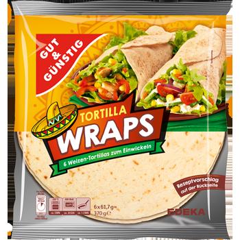 Tortilla Wraps Weizen