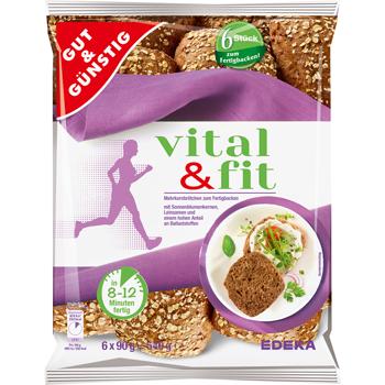 GUT & GÜNSTIG - vital & fit Mehrkornbrötchen