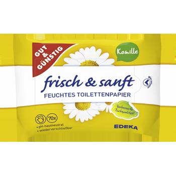 GUT & GÜNSTIG - Feuchtes Toilettenpapier