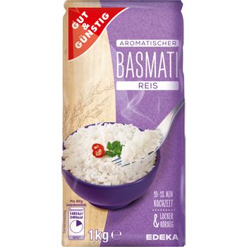 GUT & GÜNSTIG - Aromatischer Basmati Reis