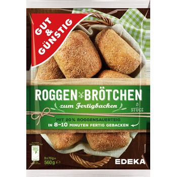 GUT & GÜNSTIG - Roggen Brötchen