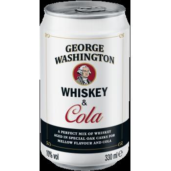 George Washington Whiskey & Cola
