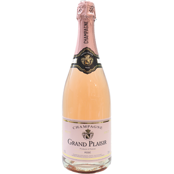 Grand Plaisir Champagne Rosé