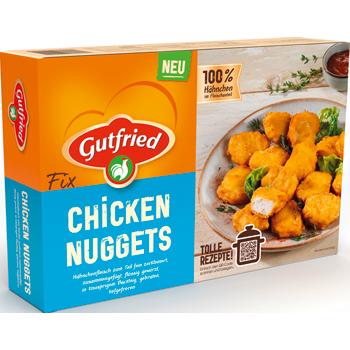 Gutfried Chicken Nuggets oder Mini Hähnchenschnitzel