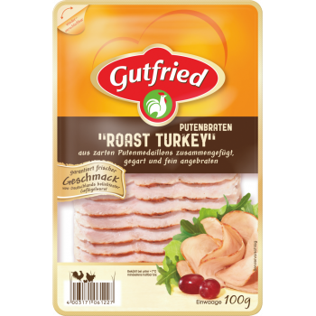 "Gutfried - Putenbraten ""Roast Turkey"" oder Hähnchenbraten ""Roast Chicken"""