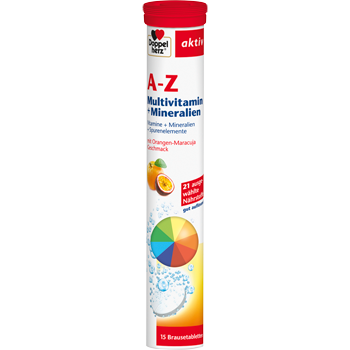 Doppelherz aktiv A-Z Multivitamin Brause-Tabletten