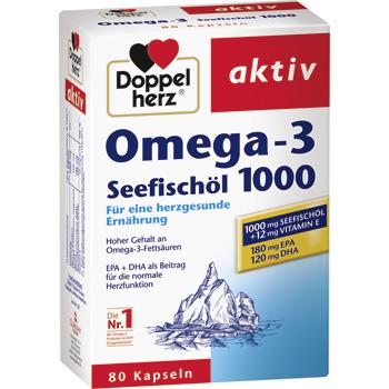 Doppelherz aktiv Omega-3 Seefischöl