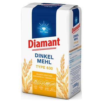 Diamant Dinkelmehl Type 630
