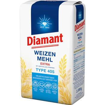 Diamant Weizen Mehl Extra Type 405
