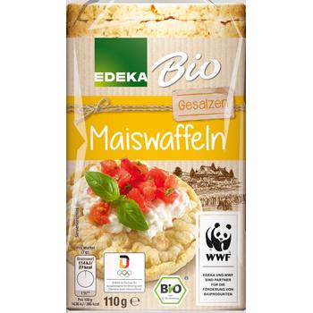 EDEKA Bio - Maiswaffeln