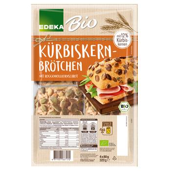 EDEKA Bio - Kürbiskernbrötchen