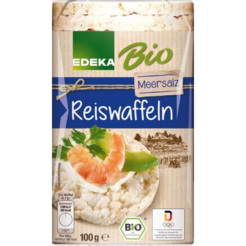 EDEKA Bio - Reiswaffeln mit Meersalz