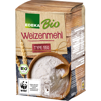 EDEKA Bio - Weizenmehl oder Weizenvollkornmehl