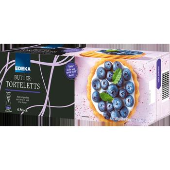 EDEKA - Butter-Torteletts
