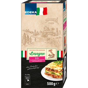 Lasagne oder Canneloni