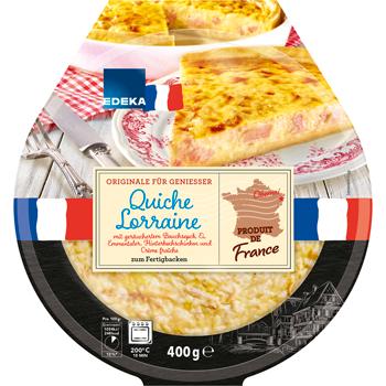 Quiche Lorraine oder Zwiebelkuchen