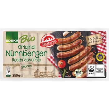 EDEKA Bio - Original Nürnberger Rostbratwürste