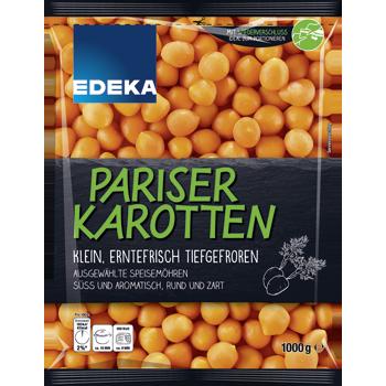 EDEKA - Paprikastreifen, Leipziger Allerlei, Pariser Karotten oder Erbsen und Möhren
