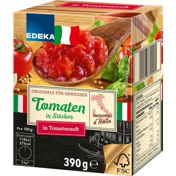 EDEKA Italia - Tomaten in Stücken