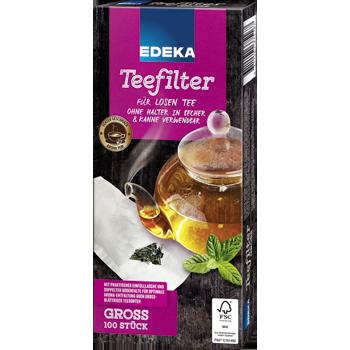 EDEKA - Teefilter