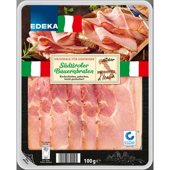 EDEKA Italia - Südtiroler Bauernbraten oder Speck